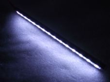 LED strip with machined cnc black case white leds, LED marker light, side light
